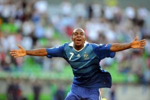 FOOT : FRANCE / PAYS BAS - UEFA U19 - Championnat d'Europe - but Gael KAKUTA -